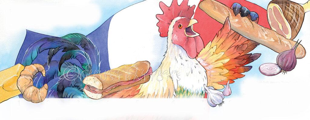 french cockerel